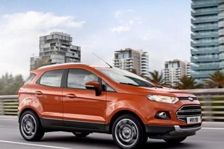 Форд ЭкоСпорт: экстерьер