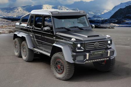Mercedes-G63 AMG 6x6 тюнинг Mansony