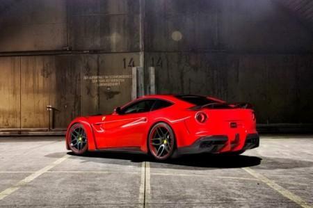 Ferrari F12 Berlinetta от Novitec Rosso: вид сзади