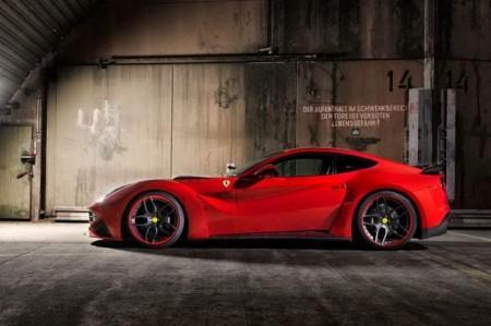 Ferrari F12 Berlinetta от Novitec Rosso: вид сбоку