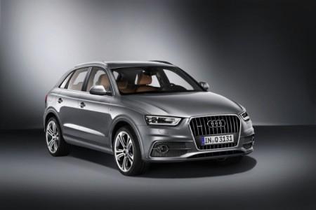 Audi Q3: экстерьер