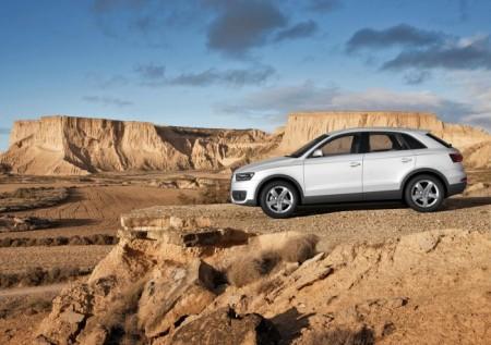 Audi Q3: внешний вид