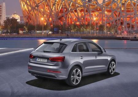 Audi Q3: вид сзади