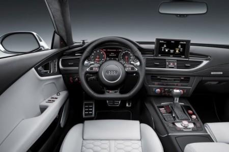 Ауди RS7 Спортбэк 2015: салон