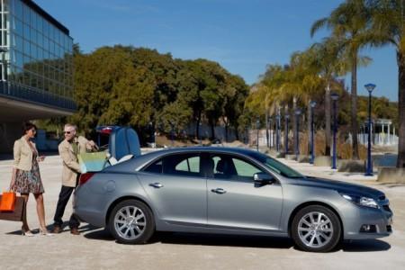 Chevrolet Malibu 2014: багажник