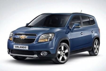 Chevrolet Orlando 2014: экстерьер