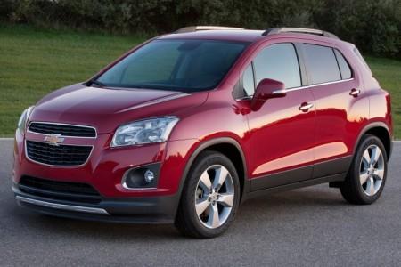 Chevrolet Tracker: экстерьер