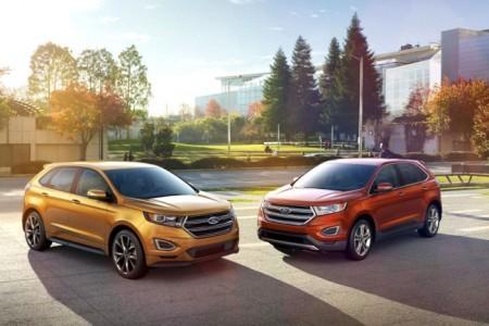 Ford Edge 2: новые варианты окраски кузова