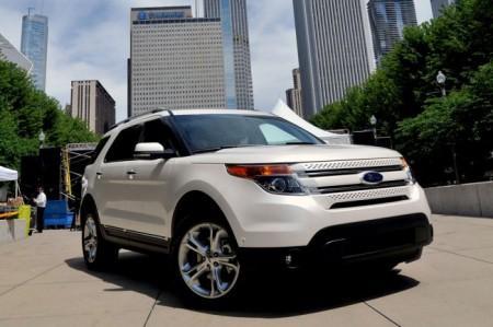 Ford Explorer 5: вид спереди