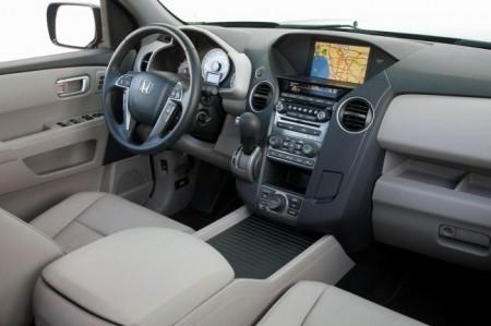 Хонда Пилот 2014: салон