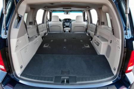 Хонда Пилот 2: багажник