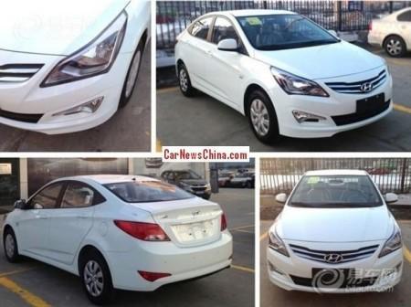 Hyundai Solaris 2015: экстерьер