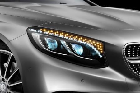 Mercedes S-Class Coupe (C217):  передняя оптика