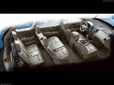 Nissan Pathfinder 4 (R52): салон