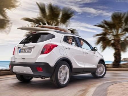 Opel Mokka: вид сзади