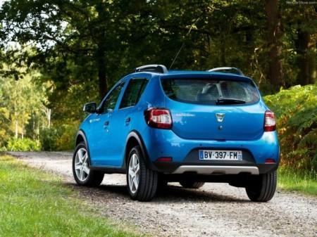 Renault Sandero Stepway 2: вид сзади