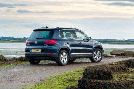 Volkswagen Tiguan: вид сзади