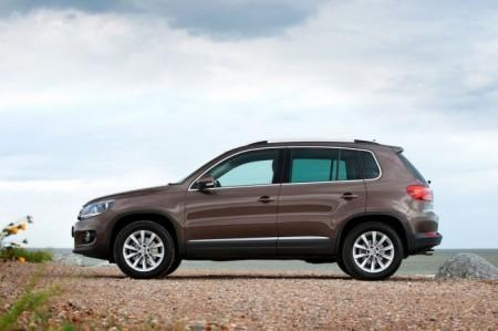 Volkswagen Tiguan: вид сбоку