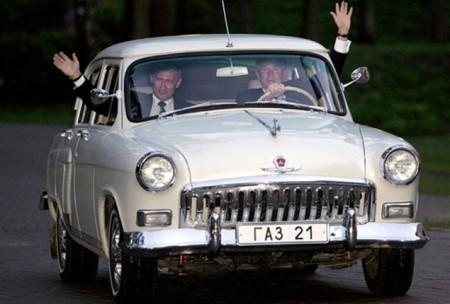 Автомобиль Волга Путина