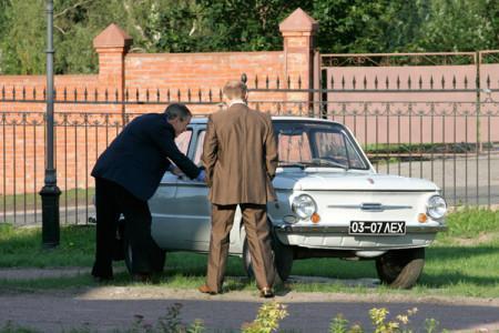Автомобиль Запорожец Путина