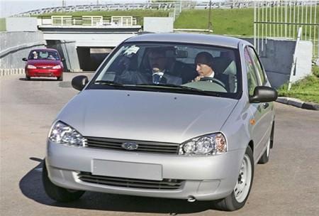 Автомобиль Лада Калина Путина