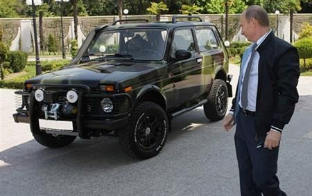 Автомобиль Нива Путина