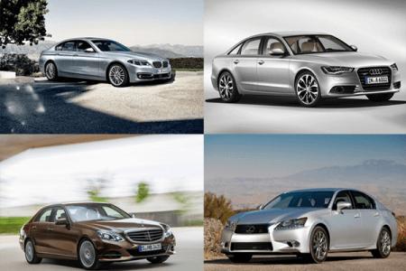 Лучшие автомобили бизнес-класса 2014