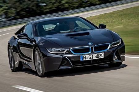 BMW i8: экстерьер