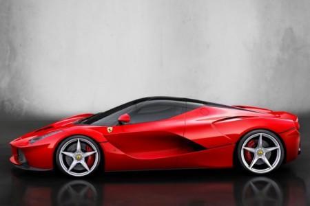 Ferrari LaFerrari: вид сбоку