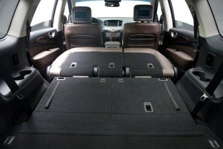 Infiniti QX60: багажник