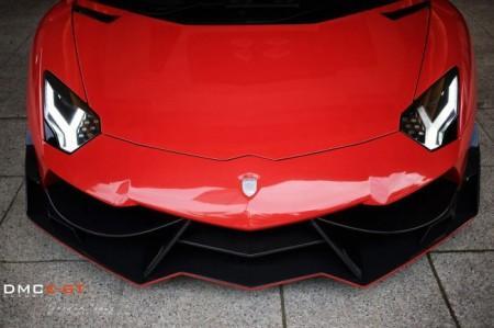 Lamborghini Aventador LP988 Edizione GT от ателье DMC: капот