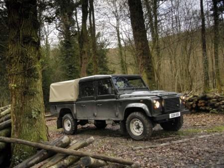 Land Rover Defender: пикап