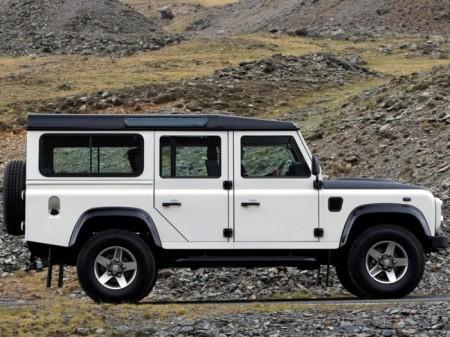 Land Rover Defender 110: экстерьер