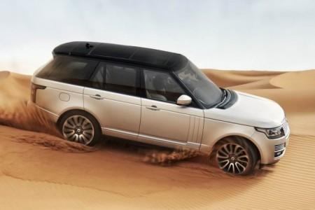Land Rover Range Rover 4: вид сбоку