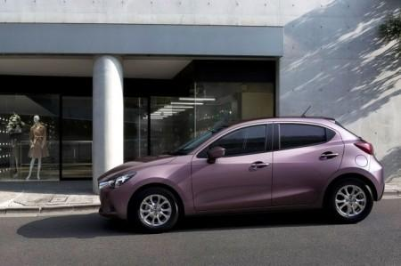 Mazda 2 II поколения: экстерьер