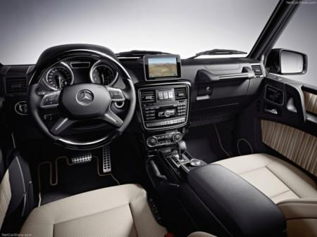 Mercedes G-Class рестайлинг 2014: салон