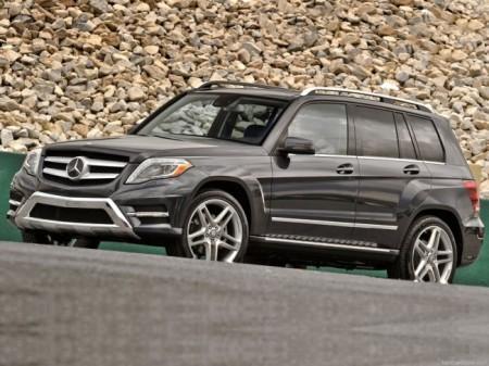 Mercedes GLK-Class: вид спереди