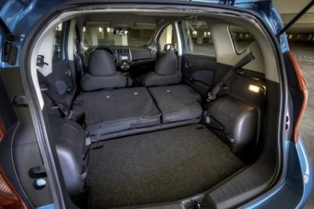 Nissan Note 2: багажник