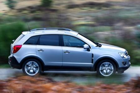 Opel Antara: экстерьер