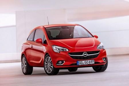 Opel Corsa 2015 модельного года