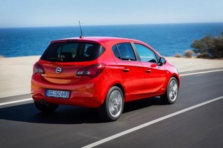 Opel Corsa E в пятидверном кузове