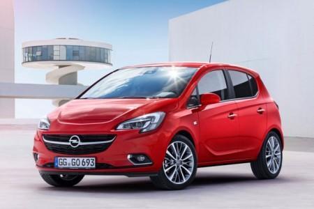 Opel Corsa E: передняя оптика
