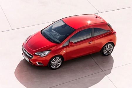 Opel Corsa E: экстерьер