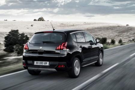 Peugeot 3008: вид сзади