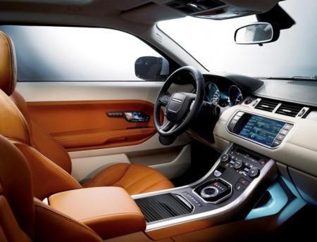 Range Rover Evoque 2014: салон