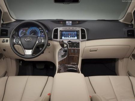 Toyota Venza: салон