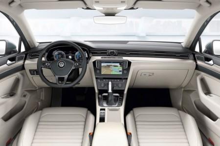 Volkswagen Passat B8: интерьер