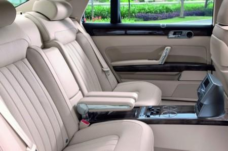 Volkswagen Phaeton: интерьер