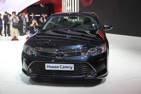 Тойота Камри: рестайлинг 2015 на ММАС-2014