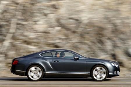 Bentley Continental GT 2: вид сбоку